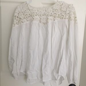 Tops - NWT Old navy lace boho blouse